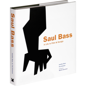 Image (with Note): Jennifer Bass margin bio with Saul Bass book