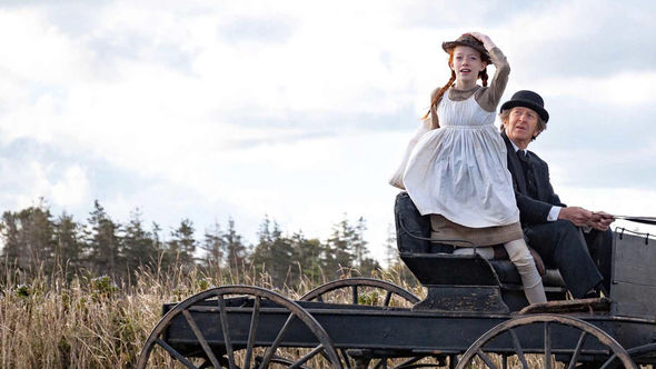IMAGE: Show still - Anne on a wagon