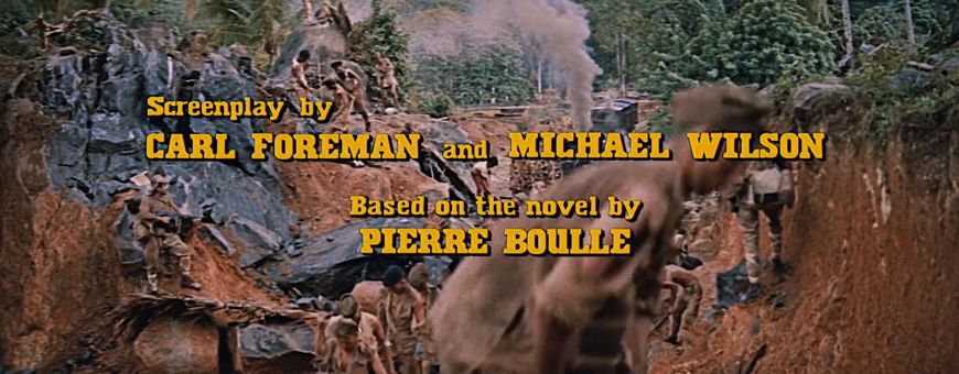 IMAGE: The Bridge on the River Kwai (1957) Restored Writing Credit