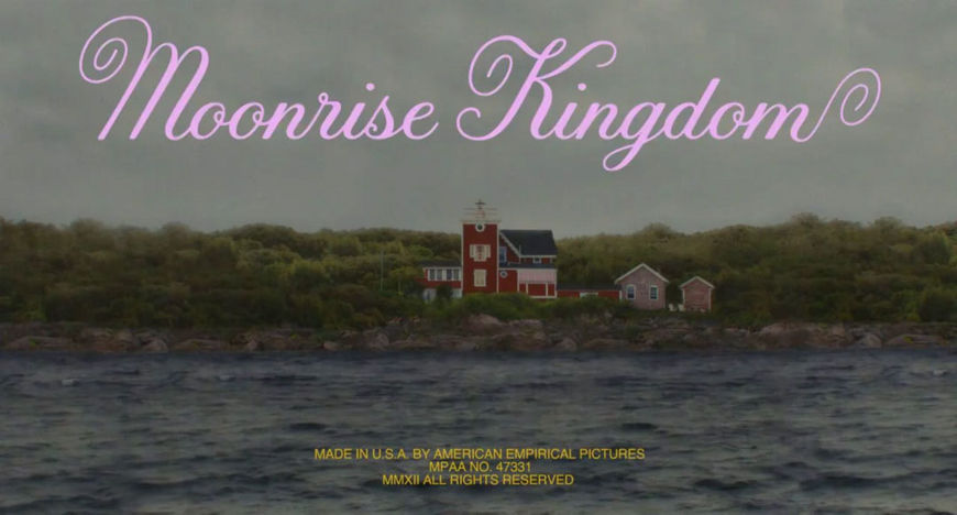 VIDEO: Title Sequence – Moonrise Kingdom (2012)