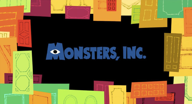 IMAGE: Monsters Inc title card 3