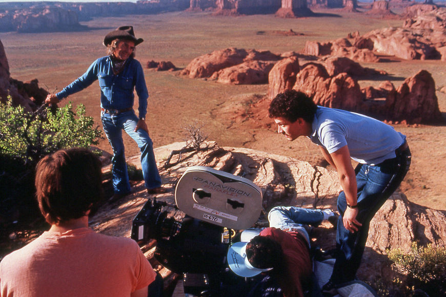 IMAGE: Camera set-up in the desert