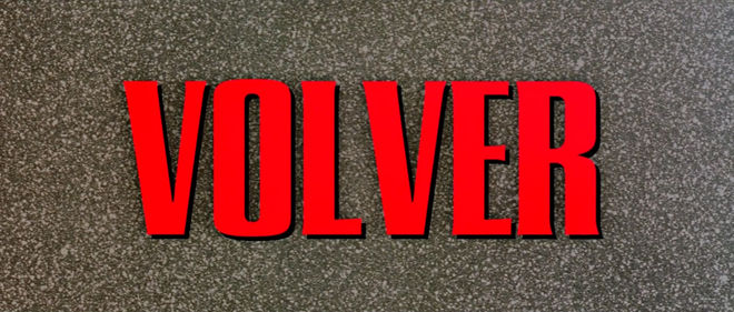 IMAGE: Volver main title card