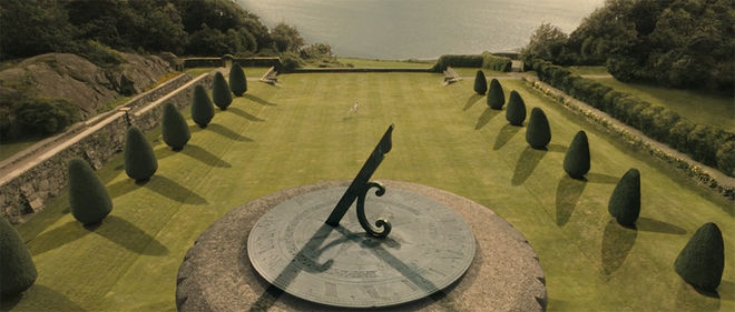 IMAGE: Still - 6 Sundial and estate and kid twirl