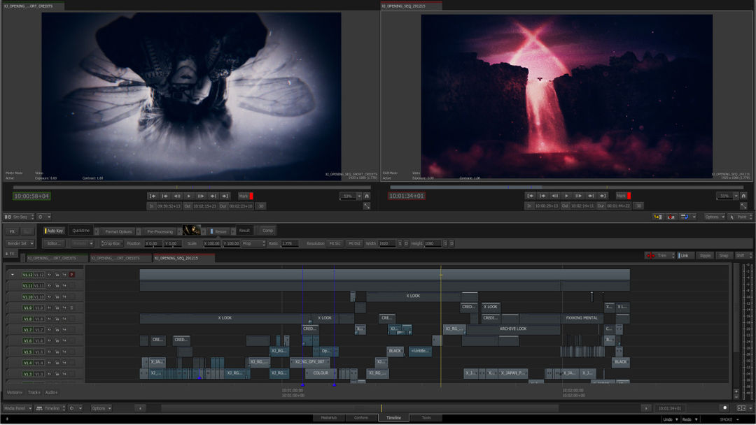 IMAGE: After Effects Timeline Still