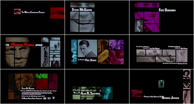VIDEO: Title Sequence – The Thomas Crown Affair