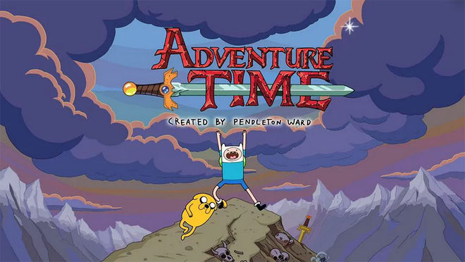 VIDEO: Adventure Time title sequence