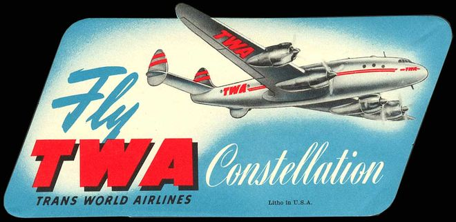 TWA advertisement