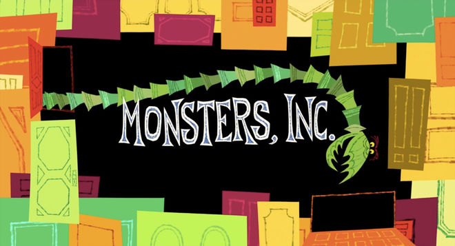 IMAGE: Monsters Inc title card 1