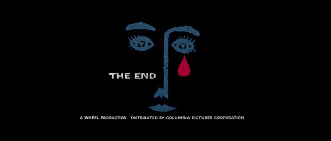 I: Bonjour Tristesse (1958) end title frame