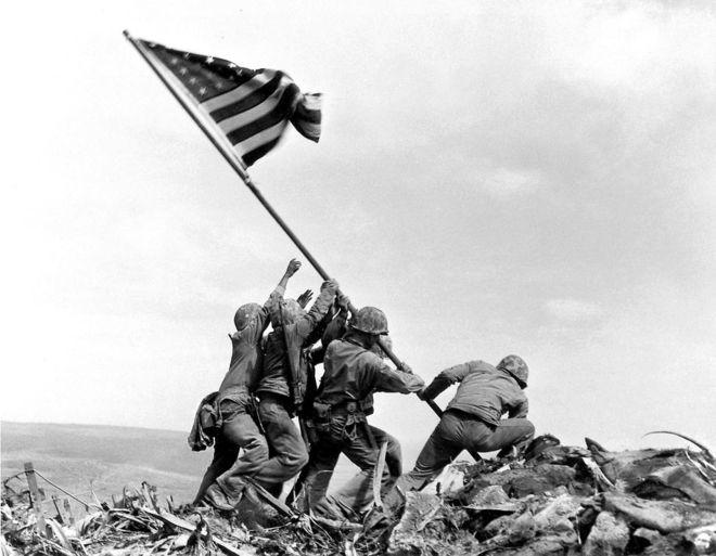 IMAGE: Iwo Jima flag raising