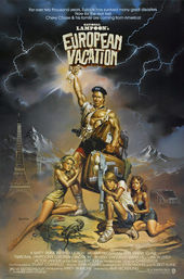 national lampoons european vacation 1985 � art of the title