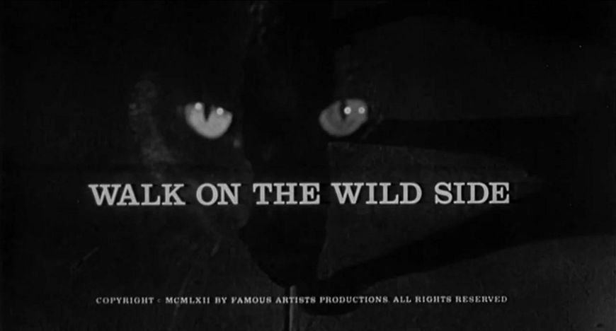 VIDEO: Title Sequence – Walk on the Wild Side by Saul Bass
