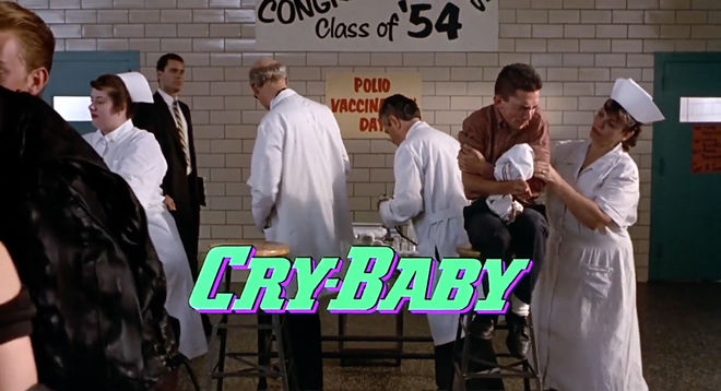 IMAGE: CryBaby title card