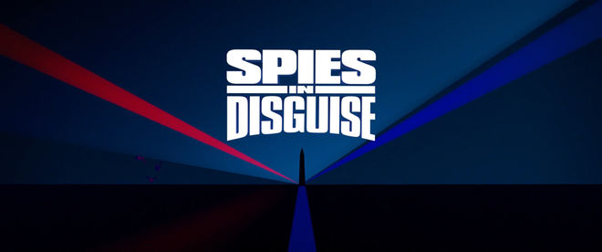 IMAGE: Spies in Disguise end title card