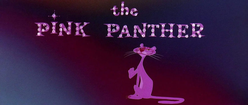 VIDEO: Title Sequence – The Pink Panther (1963)