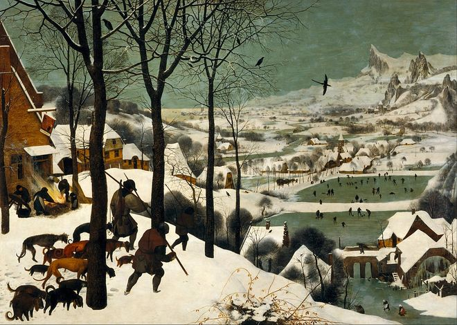 IMAGE: Art - Hunters in the Snow