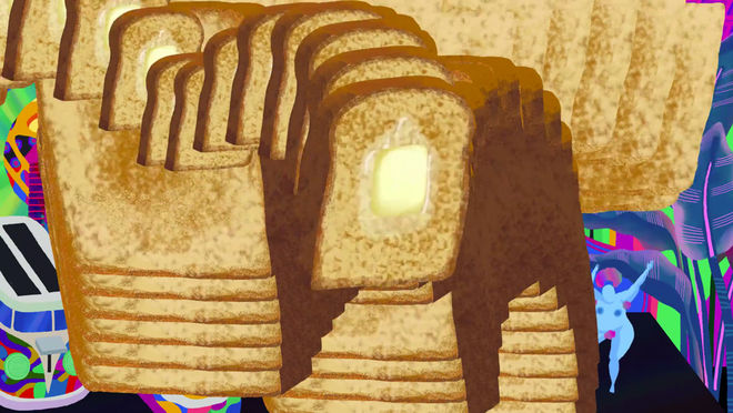 IMAGE: Still –toast solitaire loop