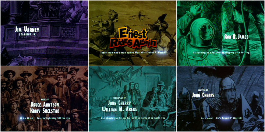 VIDEO: Title Sequence - Ernest Rides Again (1994)
