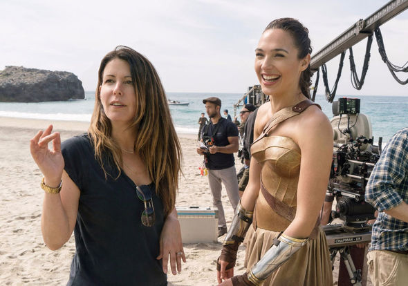 IMAGE: Patty Jenkins and Gal Gadot