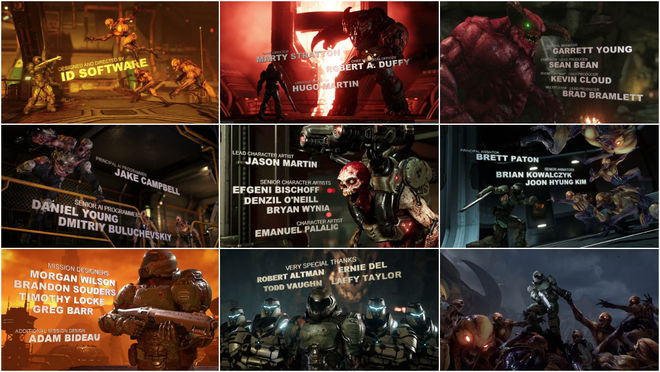 VIDEO: Title Sequence – DOOM (2016)
