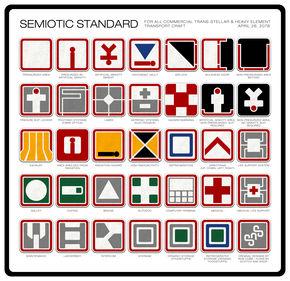 Image: Ron Cobb's Semiotic Standard for Alien