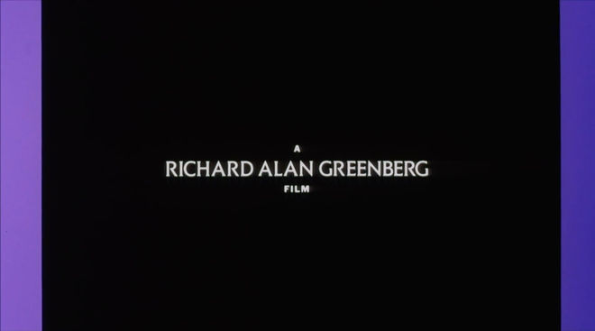 IMAGE: A Richard Alan Greenberg film