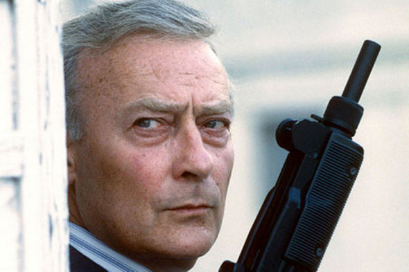 IMAGE: Edward Woodward The Equalizer Still