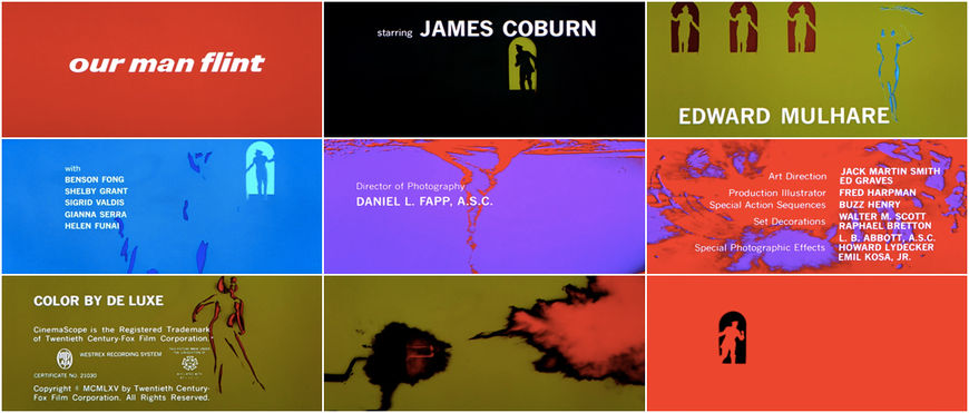 VIDEO: Title Sequence – Our Man Flint (1966)