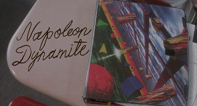 """Pablo Ferro """"Napoleon Dynamite"""" title design"""