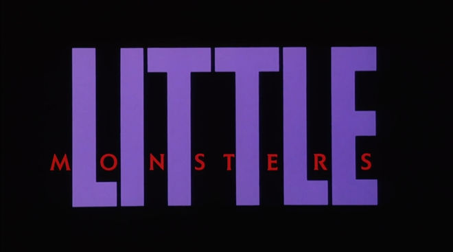 IMAGE: Little Monsters (1989) title card