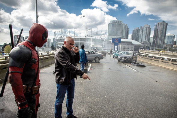 IMAGE: Deadpool On Set Behind the Scenes