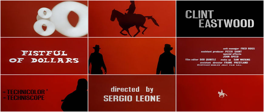 VIDEO: Title Sequence – A Fistful of Dollars