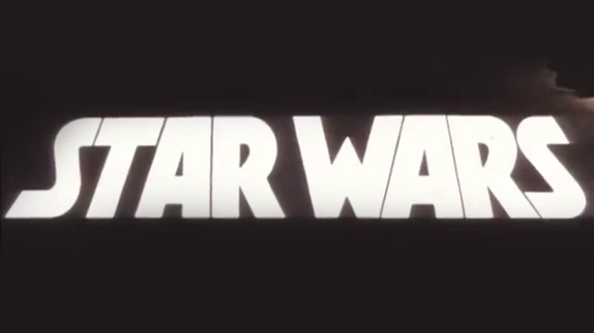 VIDEO: Title Sequence – Star WarsEarly Placeholder Main Title