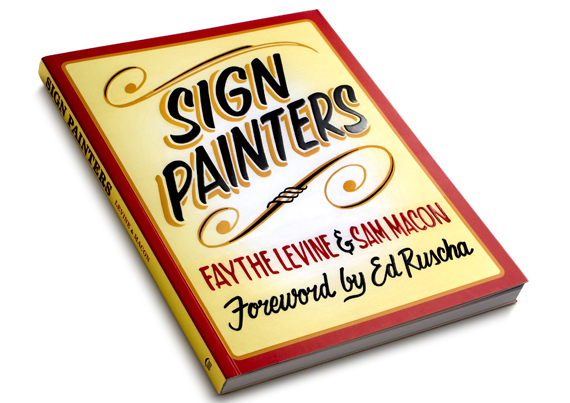 I: Sign Painters book