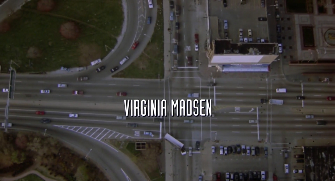 IMAGE: Still from title sequence - Virginia Madsen