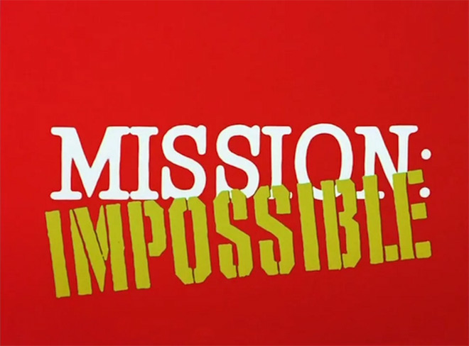 VIDEO: Title Sequence – Mission: Impossible (1966) TV opening titles