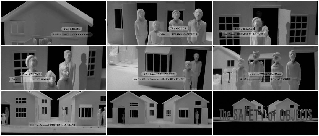 VIDEO: Title Sequence – The Safety of Objects (2001)