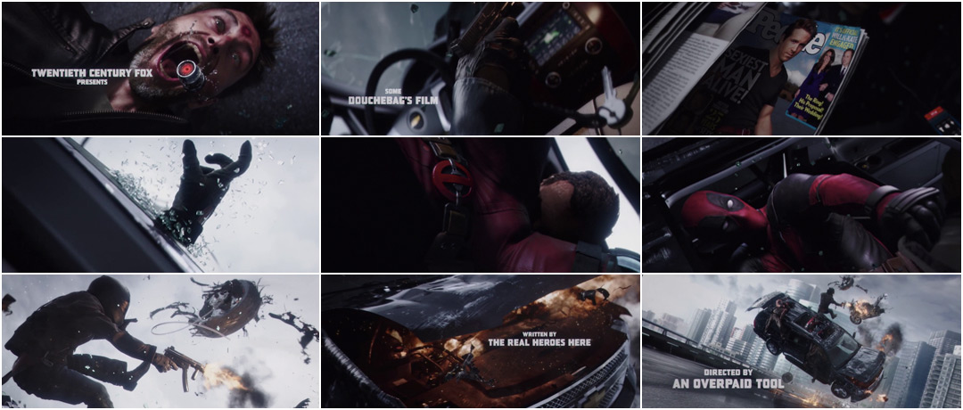 VIDEO: Title Sequence – Deadpool (2016)