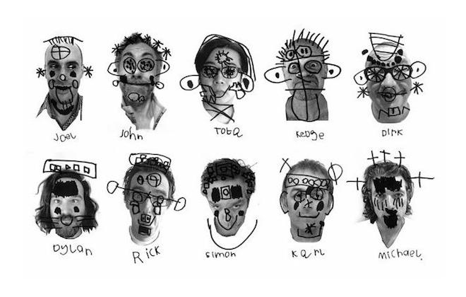 IMAGE: Tomato portrait drawings