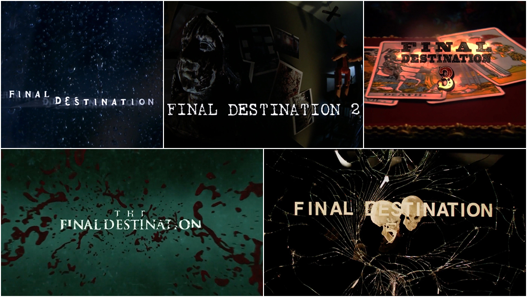 Final Destination: The Title Sequences
