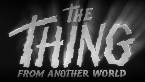 the thing from another world 1951 � art of the title