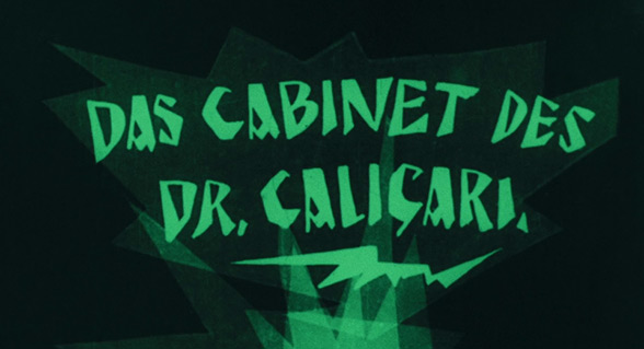 The Cabinet Of Dr Caligari 1920 Art Of The Title