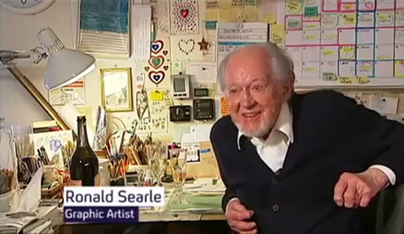VIDEO: Ronald Searle 2010 Interview
